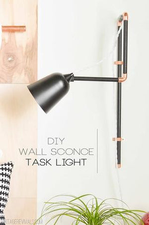 DIY Sconce Light Inspiration