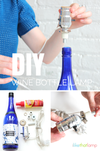How do you Make a Lamp Out of a Wine Bottle? It's Easy!