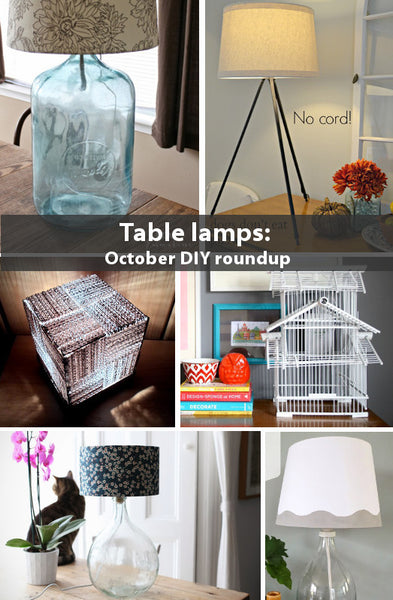 Table Lamp Roundup October 2013