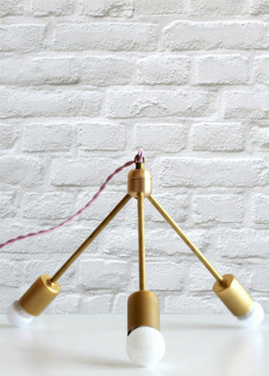 Sputnik Chandelier Inspiration - Read about DIY lampshade kits and projects at http://ilikethatlamp.com