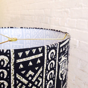 Video Tutorial: How to Make a Tribal Print Lampshade