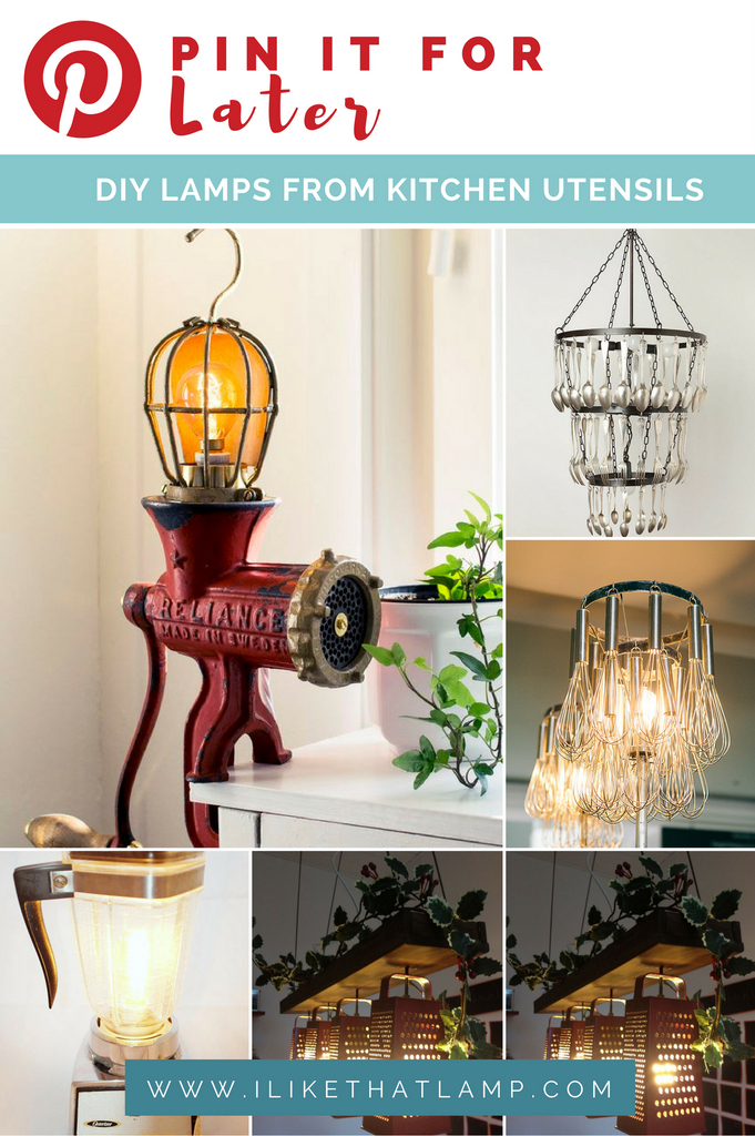 10+ Kitchen Utensils to Upcycle into a DIY Lamp - I Like That Lamp on diy kitchen side table, diy kitchen garbage can, diy kitchen refrigerator, diy kitchen painting, diy kitchen bench, diy kitchen stand, diy kitchen lighting, diy kitchen bookshelf, diy kitchen art, diy kitchen knife, diy kitchen shelf, diy kitchen dresser, diy kitchen lampshade, diy kitchen desk, diy kitchen seat, diy kitchen towel rack, diy kitchen light, diy kitchen garden, diy kitchen panel, diy kitchen design,