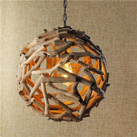 34 Wood Lamps You'll Want to DIY Immediately - Read more at www.ilikethatlamp.com #woodlamps #diy #diylamp #diyprojects #diyhomedecor #lamps #lighting