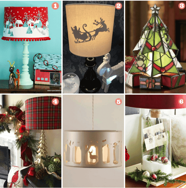 6 Christmas Themed Lamps to Swoon Over - Shop DIY Lamp Kits on I Like That Lamp