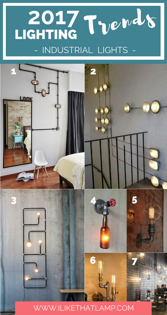 See 9 Eye-Catching 2017 Lighting Trends DIY Crafters Will Love - www.ilikethatlamp.com