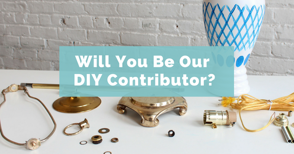 Become a DIY contributor for I Like That Lamp