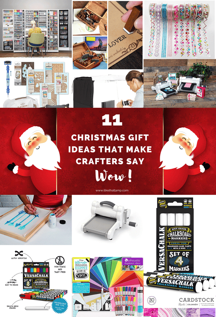 11 Christmas Gift Ideas that Make Crafters Say WOW! - Read more at www.ilikethatlamp.com