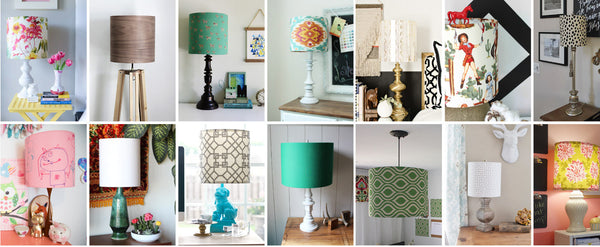 How To Make A DIY Lampshade Using Fabric Or Paper