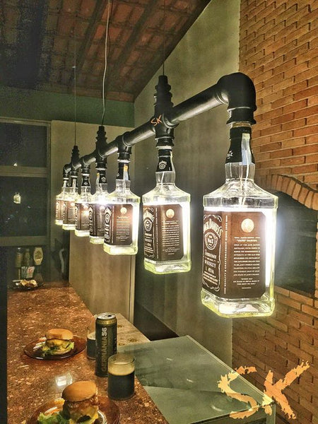 Diy Man Cave Lighting Ideas Jack Daniel S Whiskey Bottle
