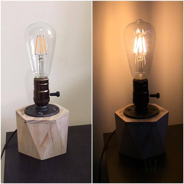 Customer Project: Gordon's Geometric Edison Table Lamp