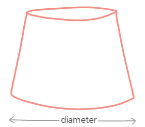 How to make a tapered lampshade i like that lamp so heres how to determine the required dimensions of your tapered lampshade mozeypictures Gallery
