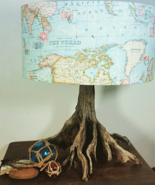 Meet The Maker: Jan Dickers Gives Driftwood New Life As Lamps   I Like That