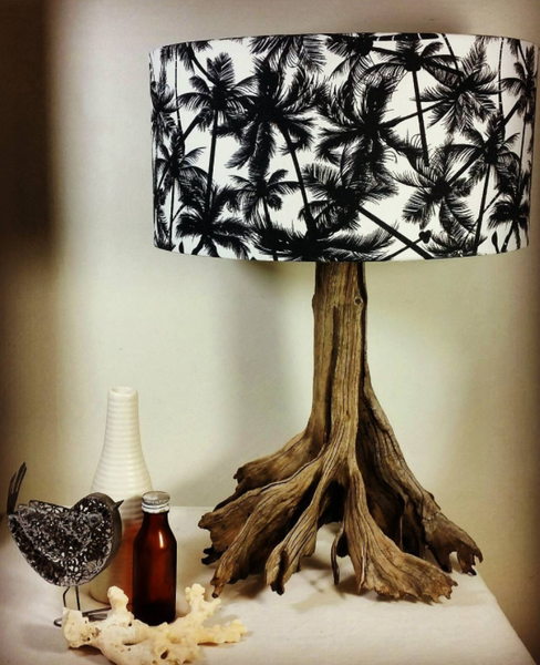 Meet the Maker: Jan Dickers Gives Driftwood New Life as Lamps - I Like That Lamp