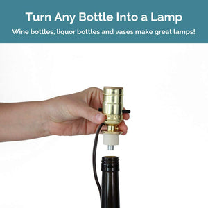 Bottle Lamp Kit [Brass]