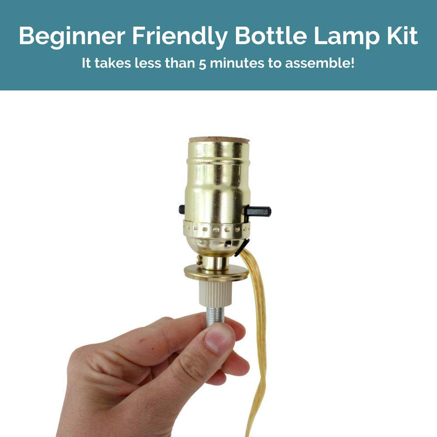 Bottle Lamp Kit [Gold]