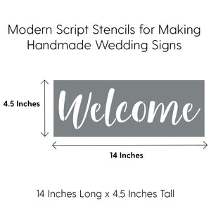 Wedding Stencils [6 Pack]