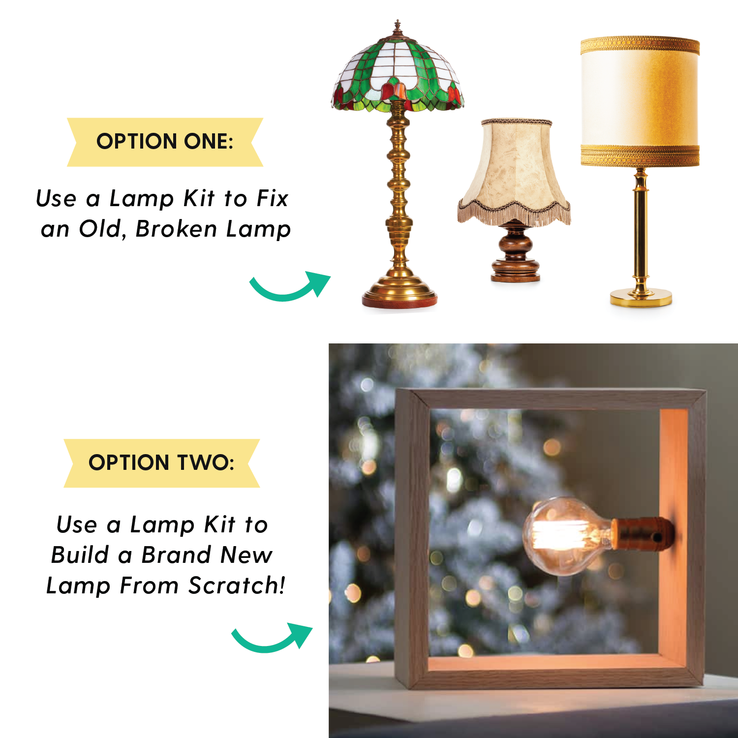 lamp wiring kit [antique brass + brown] - makely  i like that lamp