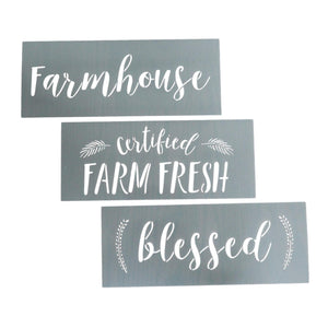 Farmhouse Stencils