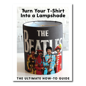 DIY T-Shirt Lampshade Making Guide