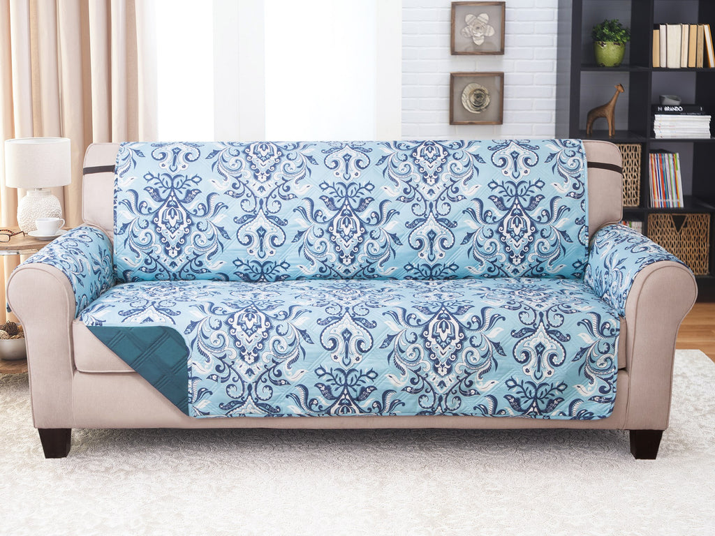 Sofa Furniture Protector - Jory/Blue Print