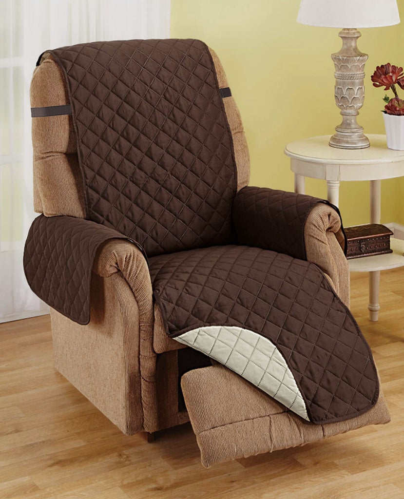 Recliner Furniture Protector -  CHOCOLATE / TAN