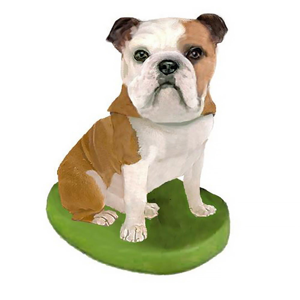 Custom Pet Dog Bobblehead - Bulldog