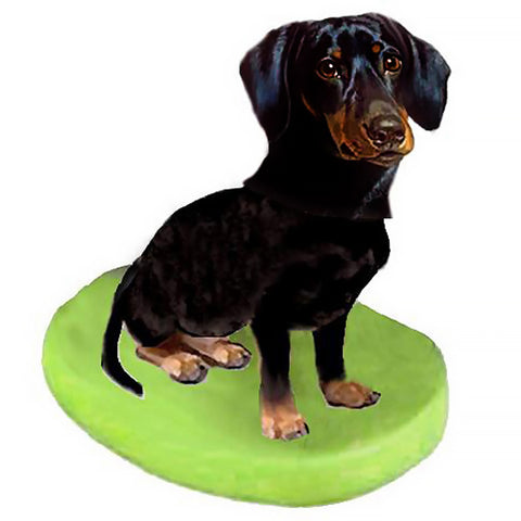 Custom Pet Dog Bobblehead - Dachshunds