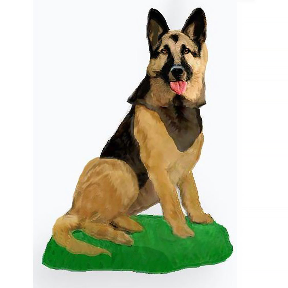 Custom Pet Dog Bobblehead - German Shepherd
