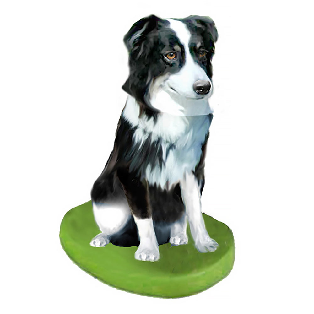 Custom Pet Dog Bobblehead - Australian Shepherd