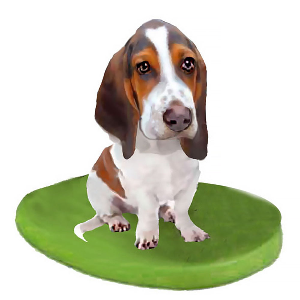 Custom Pet Dog Bobblehead - Basset Hound