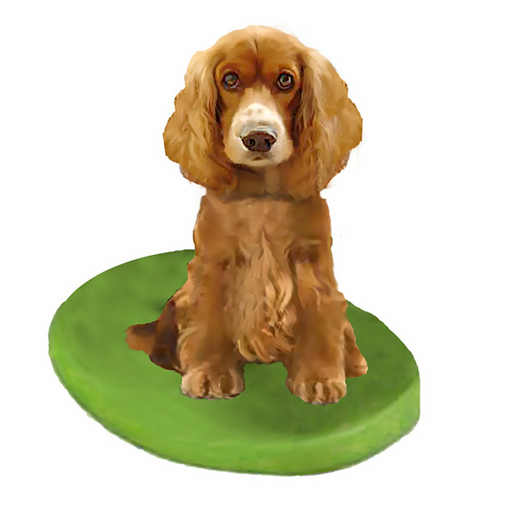 Custom Pet Dog Bobblehead - Cocker Spaniel