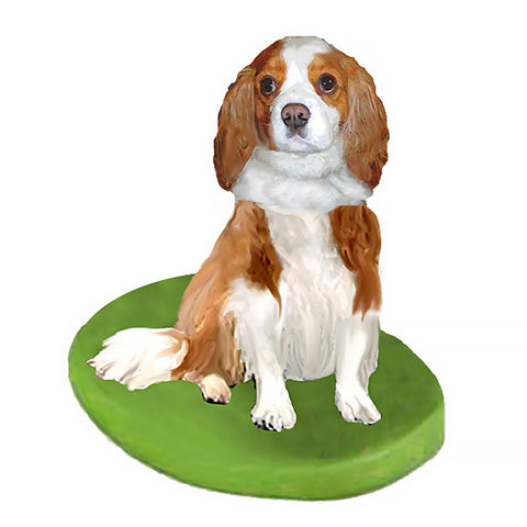 Custom Pet Dog Bobblehead - King Charles