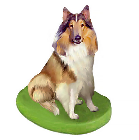 Custom Pet Dog Bobblehead - Collie