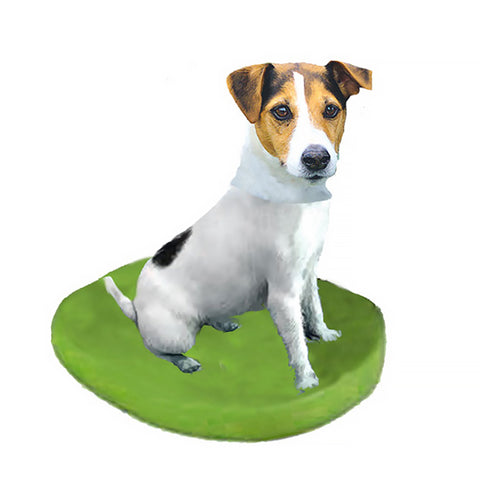 Custom Pet Dog Bobblehead - Jack Russell Terrier