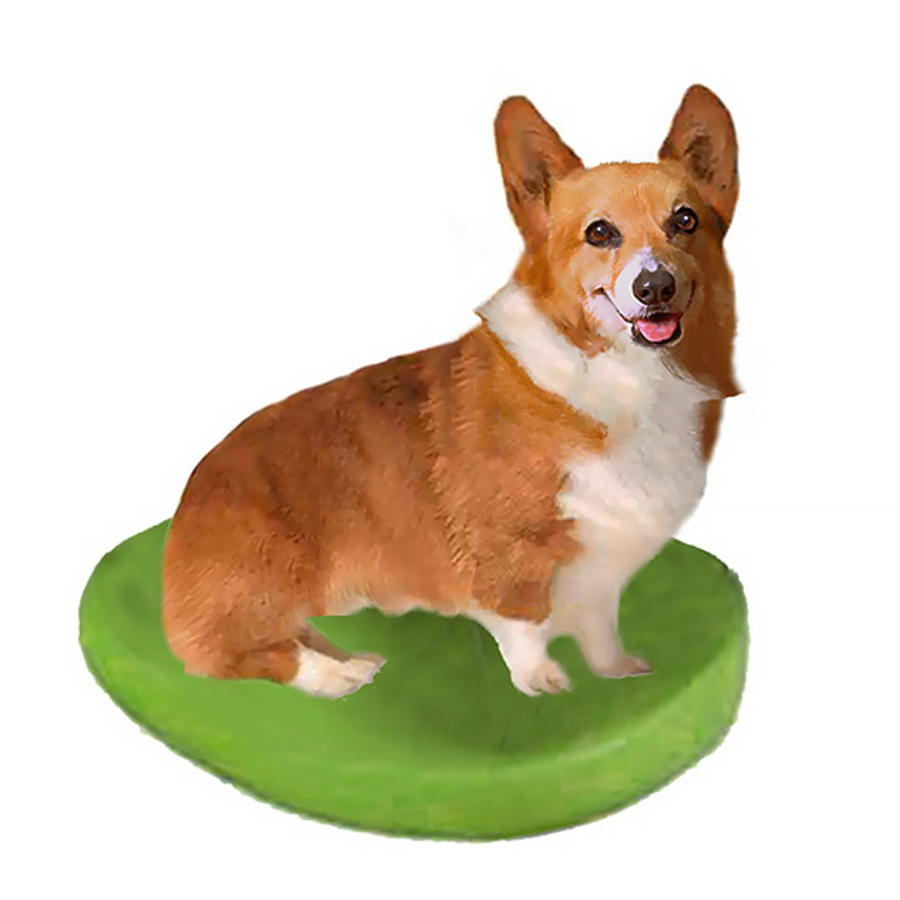 Custom Pet Dog Bobblehead - Corgi