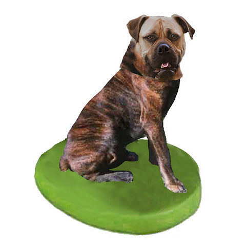 Custom Pet Dog Bobblehead - Bull Mastiff Brindle