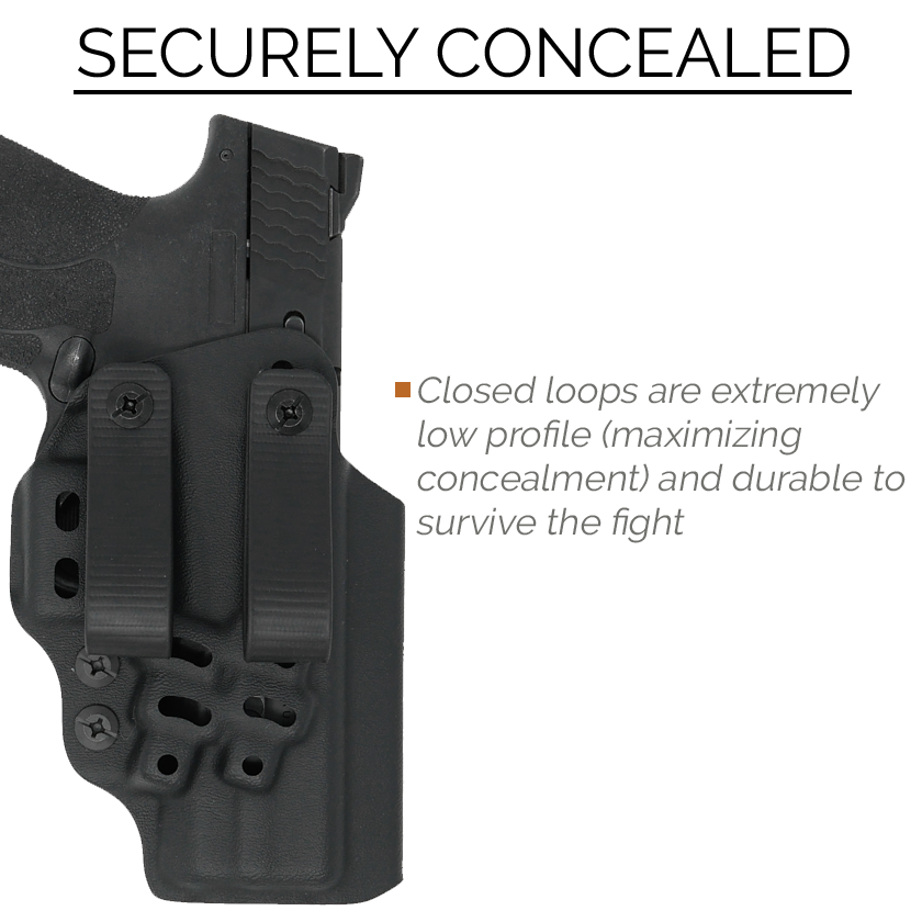 CERTUM3 IWB/AIWB Holster for M&P
