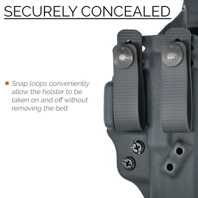 VELO4 AIWB Holster for GLOCK