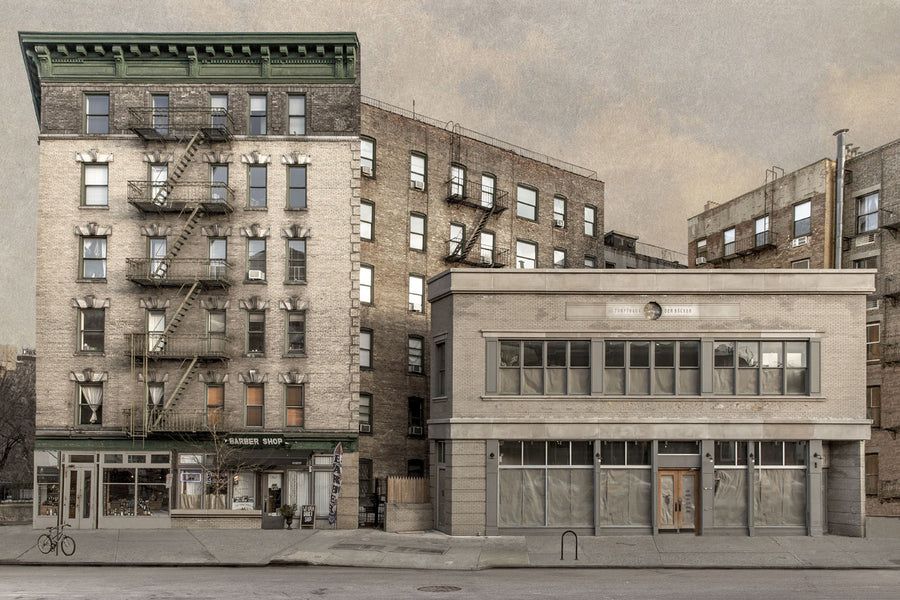 Marc Yankus brings to light the secret lives of New York's buildings