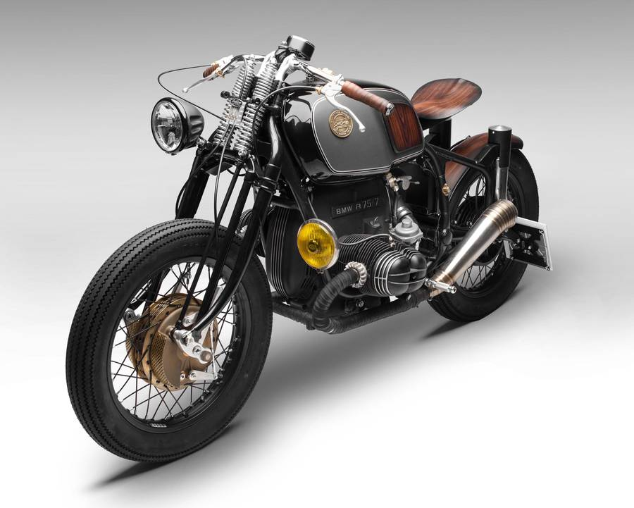 Beautiful Modified BMW R75/7