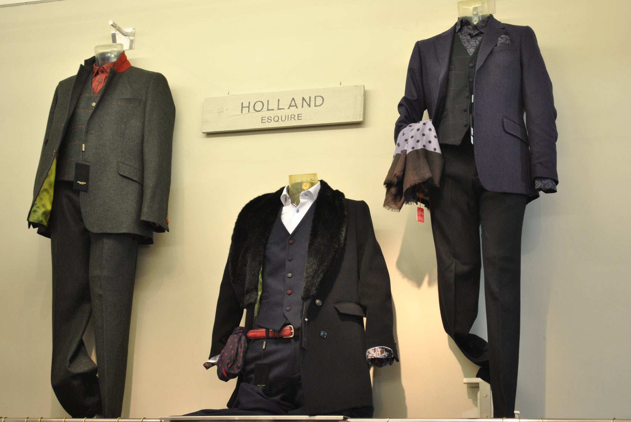 Nick Holland attended the Lynx of Harrogate, Holland Esquire x Moon event.