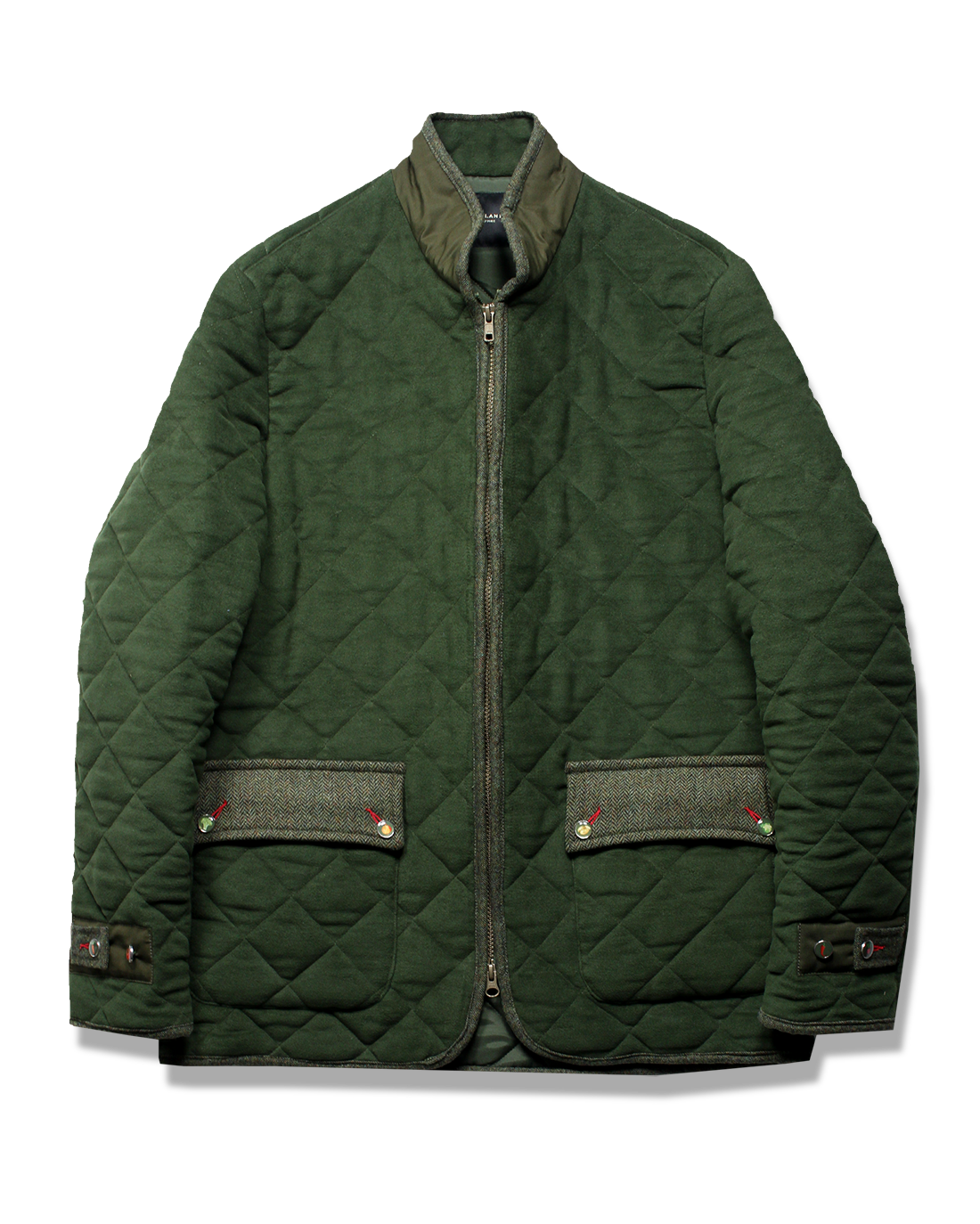 The AL Quilted Jacket - Holland Esquire