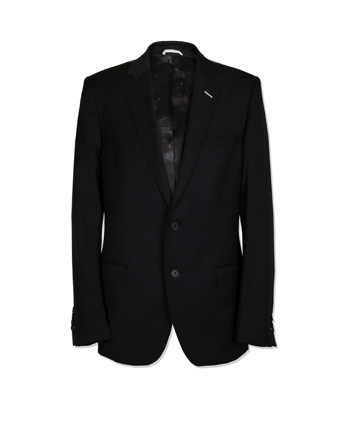 3 Piece Suit in Black Gabardine - Holland Esquire