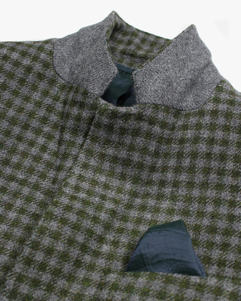 Green Check Reginald Jacket - Holland Esquire
