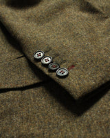 Brown Donegal Lambswool Three Piece Suit