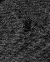 Grey Herringbone Lambswool Three Piece Suit - Holland Esquire