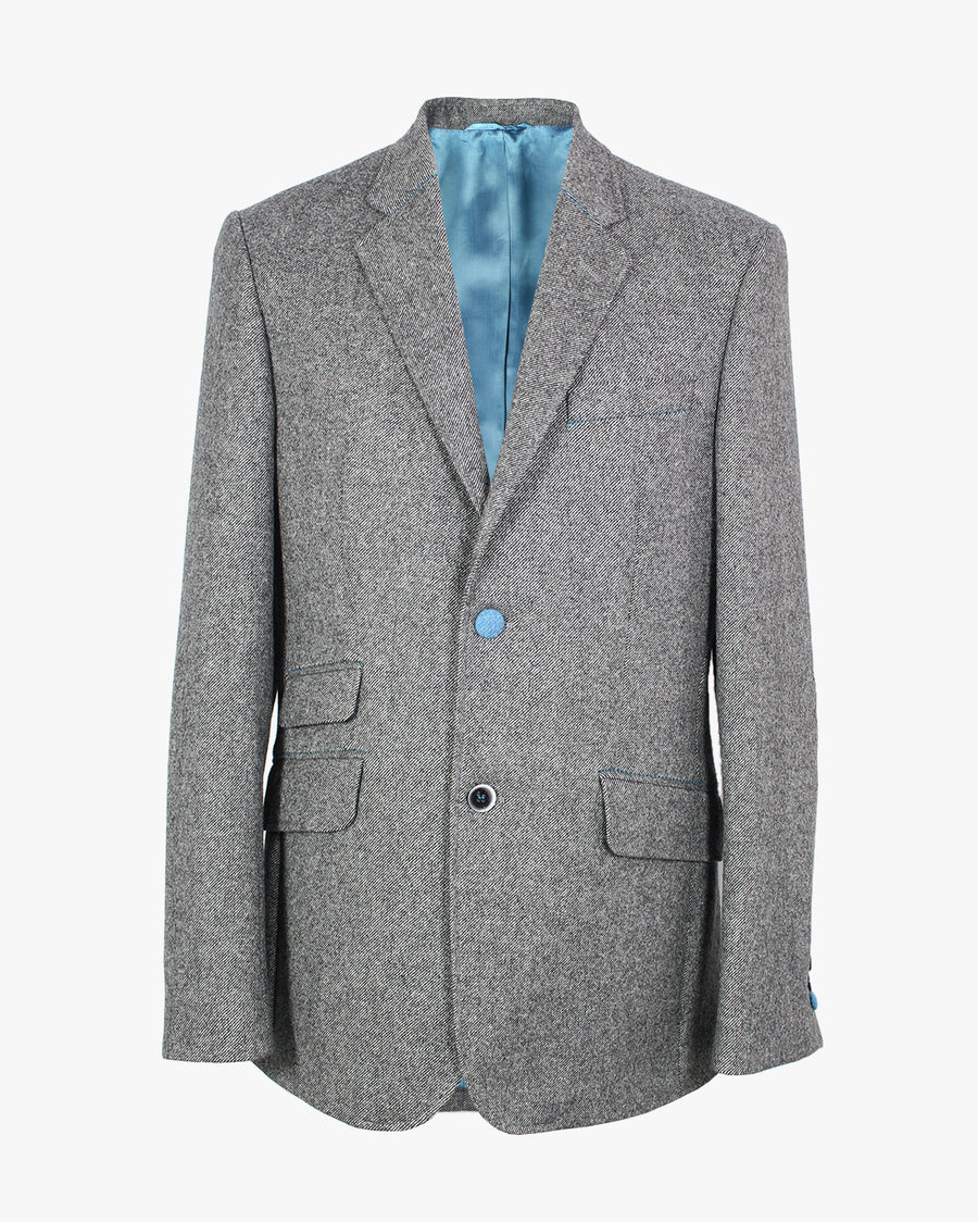 Grey Diagonal Reginald Jacket