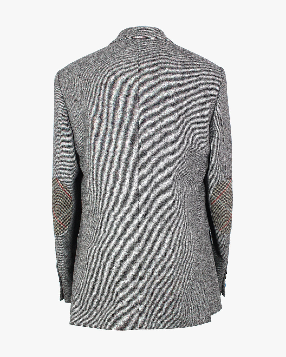 Grey Diagonal Reginald Jacket - Holland Esquire