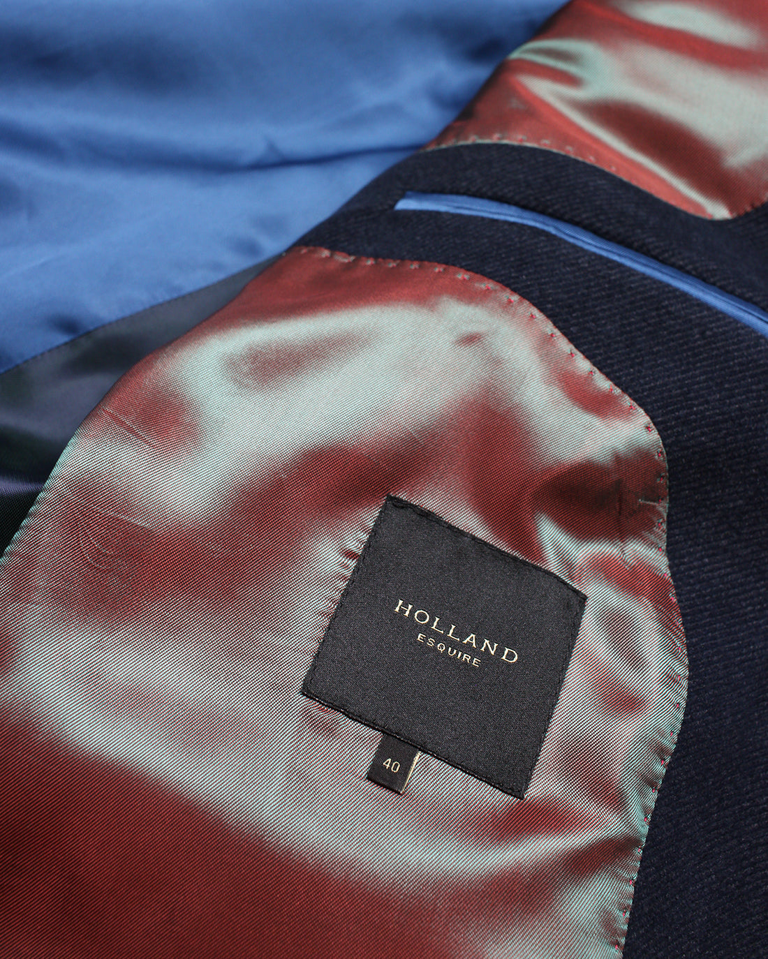 Navy Moleskin Twill Reginald Jacket