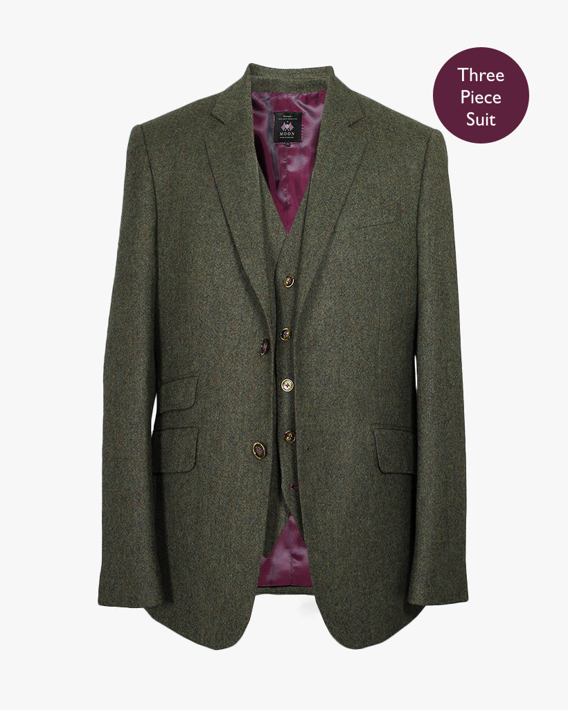 Sage Donegal Three Piece Suit